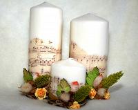Отдается в дар МК по декупажу и декорированию свечей