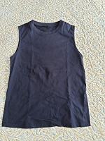 Отдается в дар футболка темносиняя размер 40-42