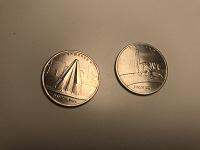 Отдается в дар Монеты 5 рублей