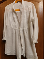 Отдается в дар Белая рубашка Nervous
