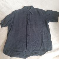 Отдается в дар Рубашка черная мужская р.М