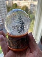 Отдается в дар Снежный шар