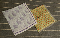 Отдается в дар Два шейных платочка, шелк