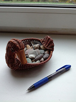 Отдается в дар Безделушка, утка плетеная декоративная