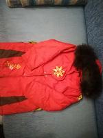 Отдается в дар Куртка зимняя для девочки 7 лет