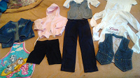 Отдается в дар Одежда для девочки 5-6 лет