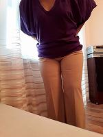 Отдается в дар брюки женские летние р 52-54