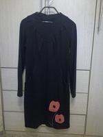 Отдается в дар Платье чёрное 46-48