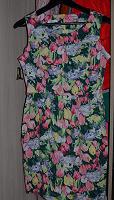 Отдается в дар цветочное платье 42-44