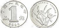 Отдается в дар Монета 1 джао Китай 2006год
