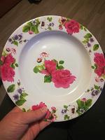 Отдается в дар Пластиковая тарелка