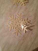 Отдается в дар Снежинки