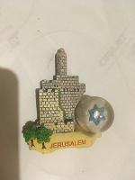 Отдается в дар Магнит на холодильник «Иерусалим»