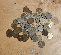 Отдается в дар Монеты СССР 3 копейки