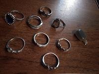 Отдается в дар кольца(бижутерия)