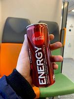 Отдается в дар Энергетический напиток Coca-Cola Energy