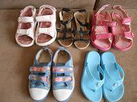 Отдается в дар Летняя обувь для девочки