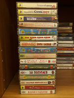 Отдается в дар Аудиокассеты — детская музыка и сказки