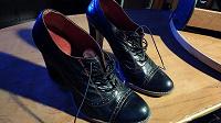 Отдается в дар Женские туфли на каблуке 39 размер