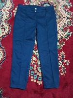 Отдается в дар Женские синие брюки