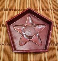 Отдается в дар Подсвечник для свечи-«таблетки» в виде звезды