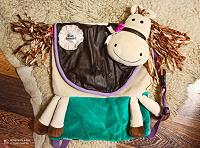 Отдается в дар забавный рюкзак детский «Корова»или лошадка, с нюансами.