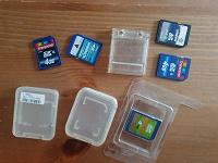 Отдается в дар SD карты памяти