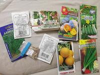 Отдается в дар Семена овощей, цветов