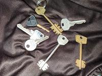 Отдается в дар Старые ключи