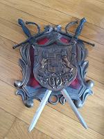 Отдается в дар Герб металлический