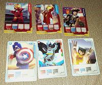 Отдается в дар карточки: Лига Супергероев