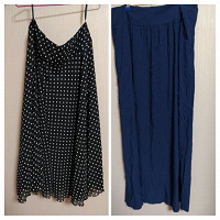 Отдается в дар Две юбки 50 размер