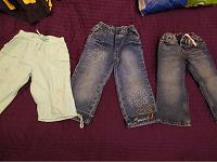Отдается в дар джинсы и бриджи для девочки на 3-4 годика