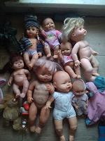 Отдается в дар Доза пупсиков кукол