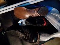 Отдается в дар Лыжные ботинки СССР