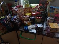 Отдается в дар Пакет еды