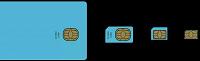 Отдается в дар обрезка sim карты