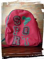Отдается в дар Спортивный рюкзак для девочки