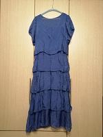 Отдается в дар Платье синее лёгкое