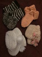 Отдается в дар Пинетки и носочки малышам
