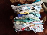 Отдается в дар Детские вещи до 6 месяцев