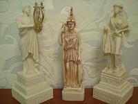 Отдается в дар Статуэтки греческих богов.