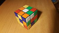 Отдается в дар Кубик Рубика, фоторамка и заколка