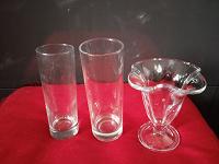 Отдается в дар Бокалы, стаканы и креманка