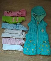 Отдается в дар Пакет одежды для девочки 104-110 см