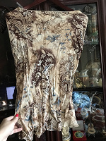 Отдается в дар шелковистая юбочка