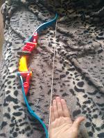 Отдается в дар Детский игрушечный лук без стрел