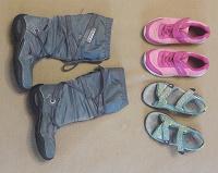 Отдается в дар Обувь для девочки, размер 30, 31