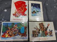Отдается в дар открытки с дефектами