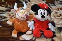 Отдается в дар Мягкие игрушки новые